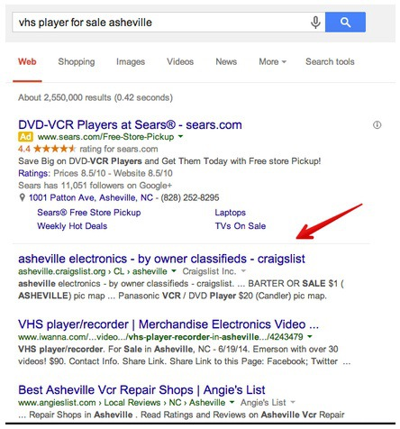 What Craigslist Can Teach Us About SEO