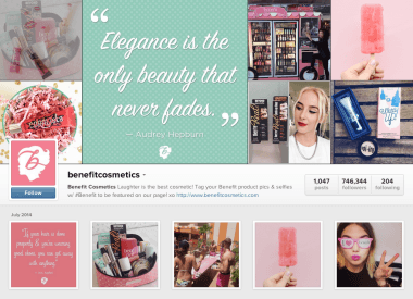 Benefit Cosmetics on Instagram