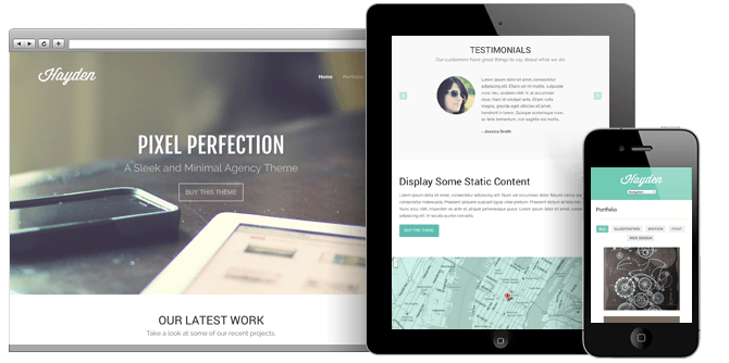 10 Visually-Appealing Business WordPress Themes