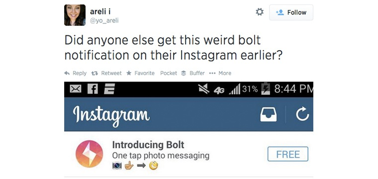 Instagram May Be Working On A Snapchat Competitor, Called Bolt