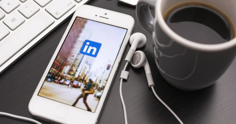 Linkedin content publishing platform