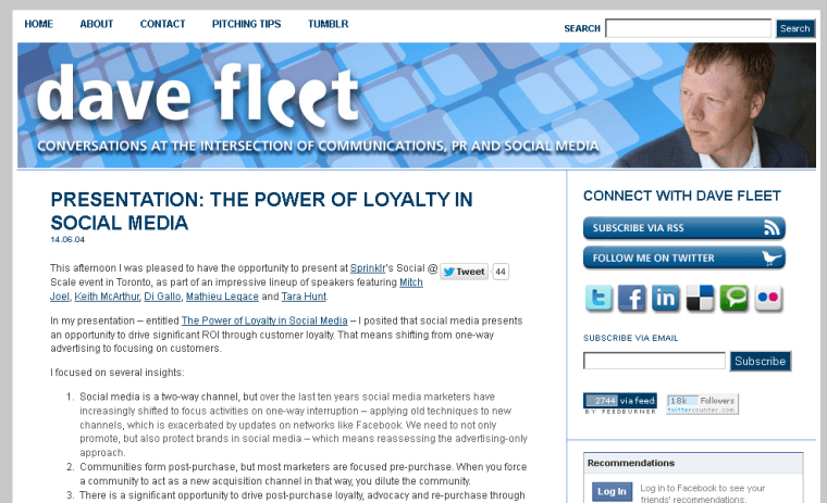 2014-08-09 09_23_14-Presentation_ The Power of Loyalty in Social Media _ davefleet.com