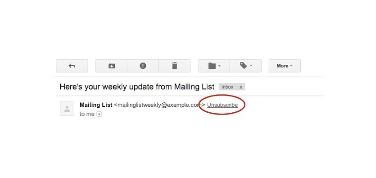 Google Makes It Easier Than Ever To Unsubscribe From Unwanted Emails