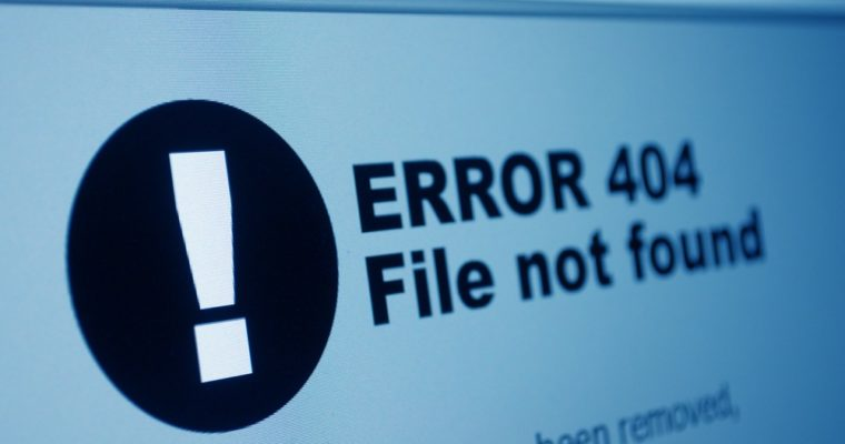 Thoughts on 404 Not Found Error Pages