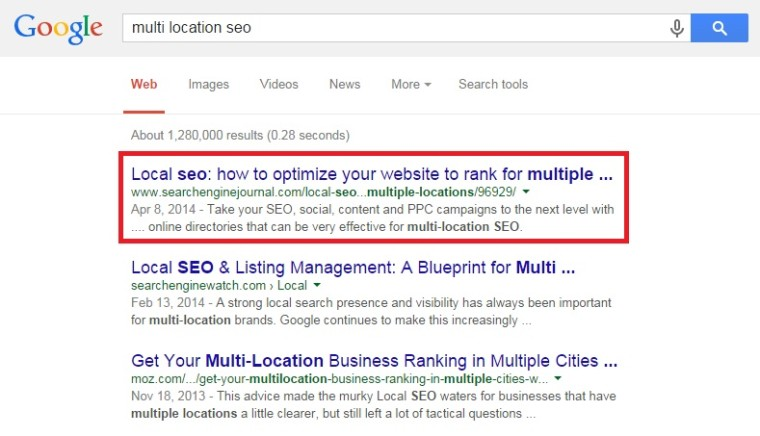 multi-location seo by brandon seymour