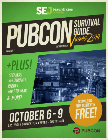 Pubcon 2014 ebook guide
