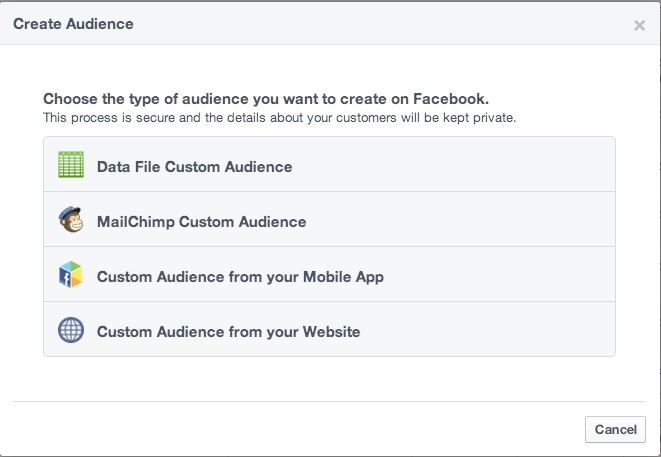 Create-custom-audience