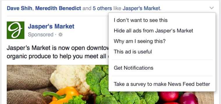 Facebook Is Using User Feedback To Show Better Ads