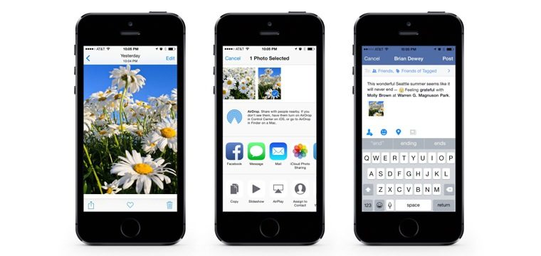 Facebook Releases New App For iOS 8: Here's What's New