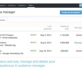 Twitter Releases Update To Tailored Audiences: New Audience List Upload, Audience Manager, And More