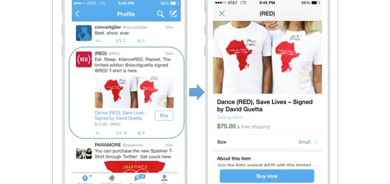 Twitter Officially Introduces The 'Buy' Button