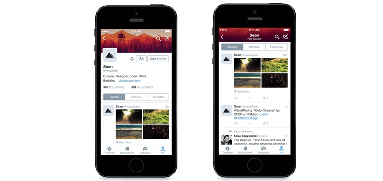 Twitter Releases New iPhone App Just In Time For iOS 8