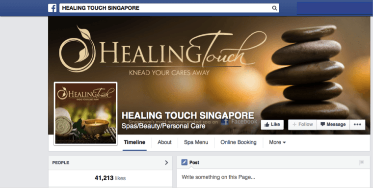 Healing Touch Singapore