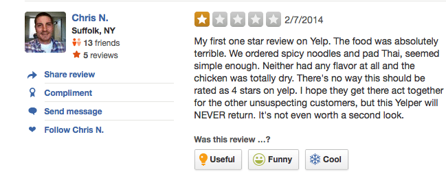 Real online review
