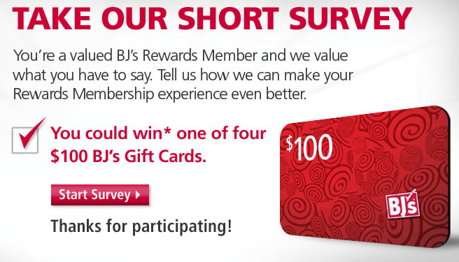 Image from MyBJSWholesale.com Survey Newsletter