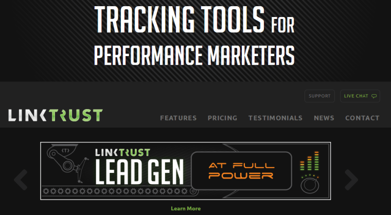 2014-11-21 14_22_50-Best Affiliate Tracking & Lead Generation Software _ LinkTrust