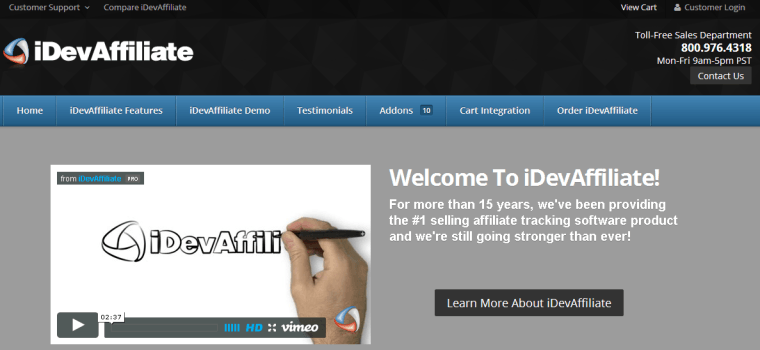 2014-11-21 14_26_52-iDevAffiliate - Affiliate Tracking Software - Affiliate Program Software
