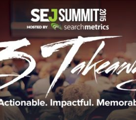 And a drum roll please…Introducing SEJ Summit 2015