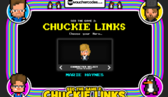Chuckie Links, SEO video game