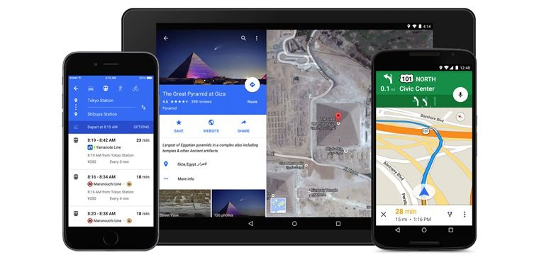 Google Improves Maps With New Local Search Features, New Material Design, And More
