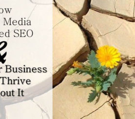 How Social Media Changed SEO And Why Your Business Can't Thrive Without It