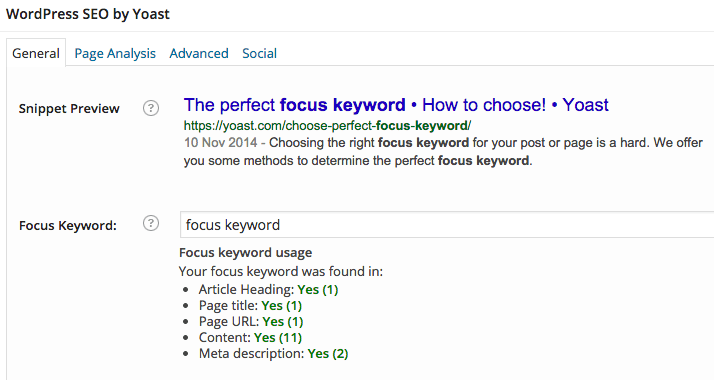 How to Choose the Perfect Focus Keyword