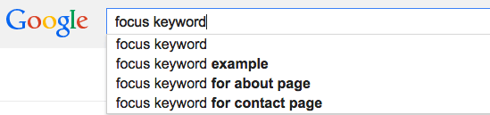 How to Choose the Perfect Focus Keyword | SEJ