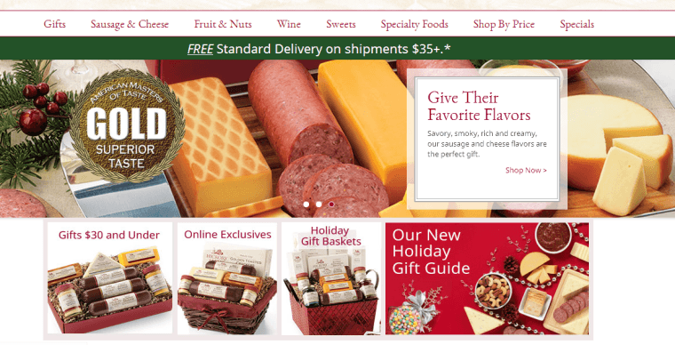 2014-12-11 11_46_21-Gourmet Food Gifts & Unique Specialty Foods _ Hickory Farms