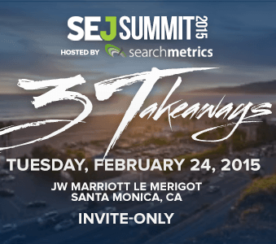 Unveiling the Agenda For #SEJSummit Santa Monica