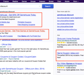 Who Placed that Ad? Yahoo Experiments with No Display URL in PPC Ads