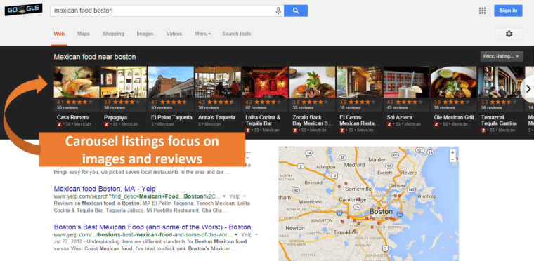 Google Local Images