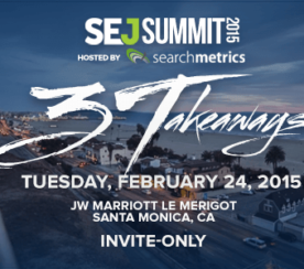 Two More Speakers Announced For #SEJSummit Santa Monica