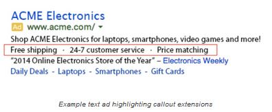 callout extensions google blog