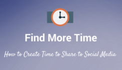 How to Share to Social Media if You Don't Have Time