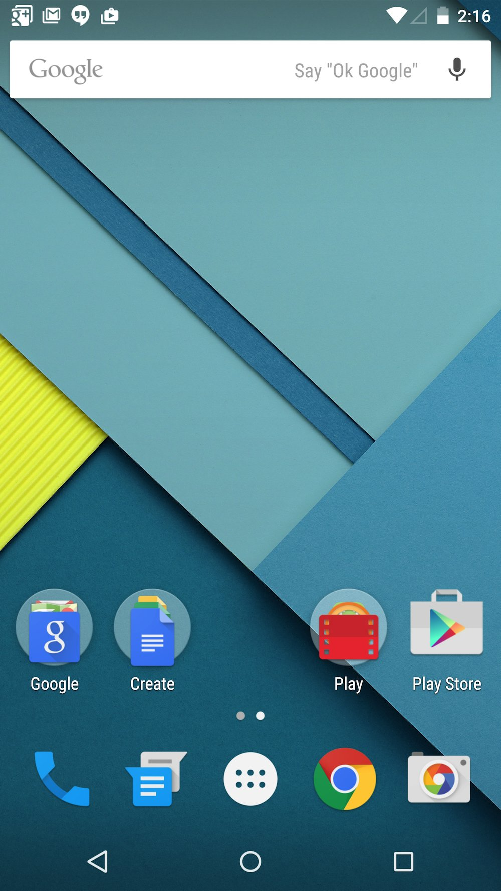 android how to delete home screen page
