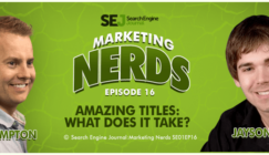 Marketing Nerds podcast: Jayson DeMers and John Rampton discuss titles
