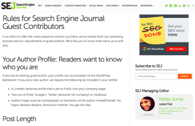 Rules for Search Engine Journal