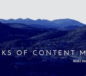 The Risks of Content Marketing