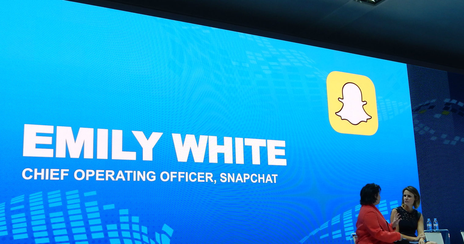 Snapchat COO Emily White Covers Generation Z at #FordNAIAS
