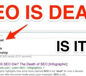 "The Many ""Deaths"" of #SEO Before 2015"