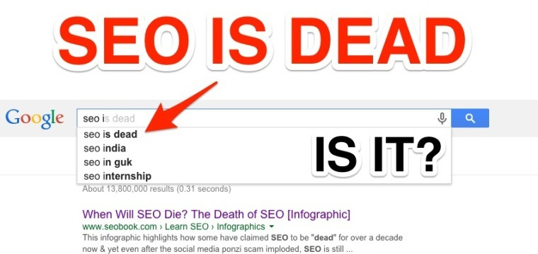 "The Many ""Deaths"" of #SEO Up Until 2015 