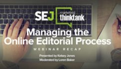 Webinar Recap: Managing the Online Editorial Process with Kelsey Jones