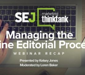 Managing the Online Editorial Process