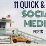 11 Quick and Easy Social Media Posts | SEJ