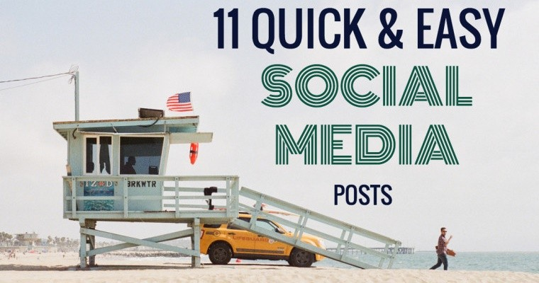 11 Quick and Easy Social Media Status Updates: It's Easier Than You Think
