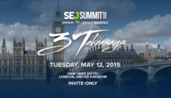 SEj Summit London marketing conference