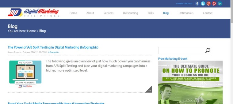 Blog - Digital Marketing Philippines