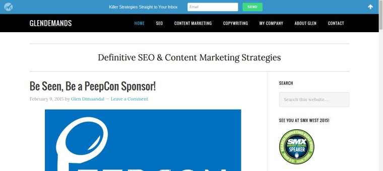 GlenDemands- SEO & Content Marketing Blog Philippines