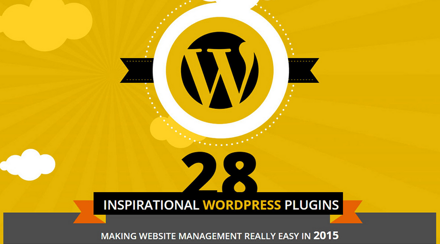 Inspirational WordPress Plugins Infographic