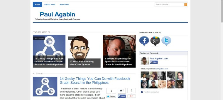Paul Agabin - Philippine Internet Marketing News, Reviews and Features